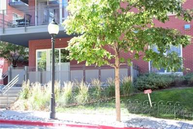 1438 Little Raven Street UNIT 102, Denver, CO 80202 - MLS#: 7109540