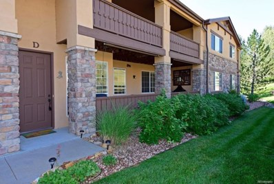 9856 W Freiburg Drive UNIT D, Littleton, CO 80127 - MLS#: 7111898