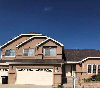 5280 War Paint Place, Colorado Springs, CO 80922 - MLS#: 7112592