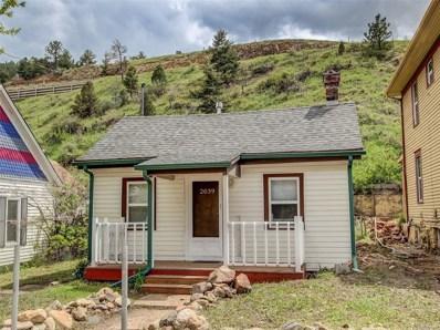 2039 Miner Street, Idaho Springs, CO 80452 - MLS#: 7177765