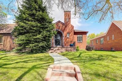 1062 S Elizabeth Street, Denver, CO 80209 - #: 7306638