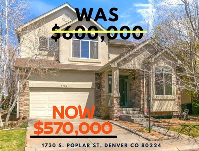 1730 S Poplar Street, Denver, CO 80224 - #: 7335567