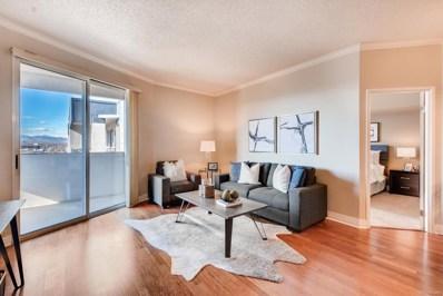 601 W 11th Avenue UNIT 1109, Denver, CO 80204 - MLS#: 7362651
