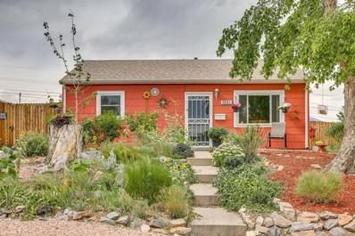 1231 W Hoye Place, Denver, CO 80223 - MLS#: 7378024