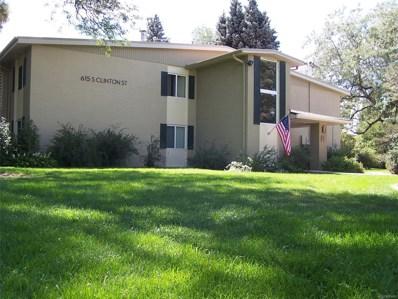 615 S Clinton Street UNIT 10B, Denver, CO 80247 - MLS#: 7393752