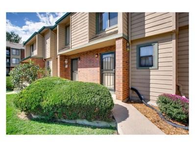 3636 S Depew Street UNIT 9, Lakewood, CO 80235 - MLS#: 7465982