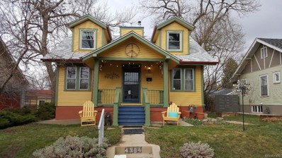 4384 Xavier Street, Denver, CO 80212 - MLS#: 7510403
