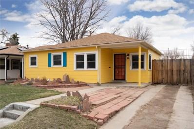 1220 Roslyn Street, Denver, CO 80220 - MLS#: 7525011
