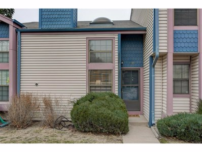 16104 E Alaska Place UNIT E, Aurora, CO 80017 - MLS#: 7527989