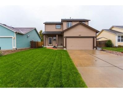4013 Roan Drive, Colorado Springs, CO 80922 - MLS#: 7539412