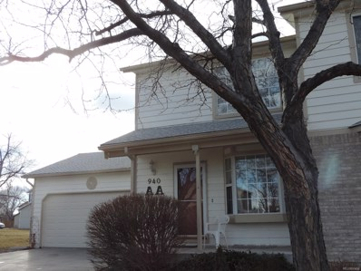 940 W 133rd Circle UNIT AA, Westminster, CO 80234 - #: 7559896