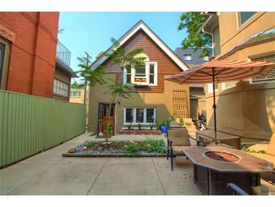 1427 N Franklin Street UNIT 6, Denver, CO 80218 - MLS#: 7578538