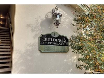 1575 Olympia Circle UNIT 304, Castle Rock, CO 80104 - MLS#: 7638323
