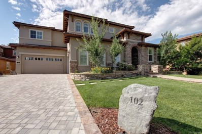 102 Morningdew Place, Highlands Ranch, CO 80126 - #: 7764973