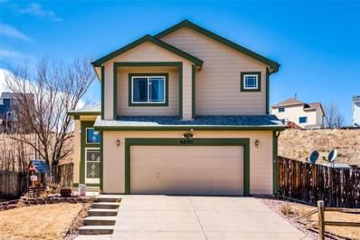 4850 Sweetgrass Lane, Colorado Springs, CO 80922 - MLS#: 7784690
