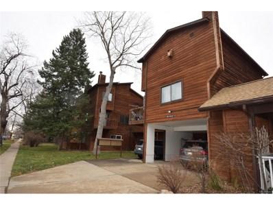 1860 Walnut Street UNIT 10, Boulder, CO 80302 - MLS#: 7827345
