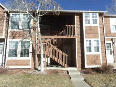16923 E Whitaker Drive UNIT I, Aurora, CO 80015 - MLS#: 7846850