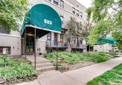 523 E 12th Avenue UNIT 1, Denver, CO 80203 - MLS#: 7945952
