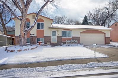 1019 Rice Drive, Colorado Springs, CO 80905 - MLS#: 7965213