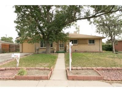 3268 Tucson Street, Aurora, CO 80011 - MLS#: 7982424