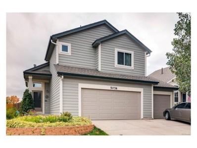 5076 Sweetgrass Lane, Colorado Springs, CO 80922 - MLS#: 7991320