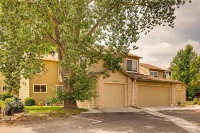 10530 W Fair Avenue UNIT C, Littleton, CO 80127 - MLS#: 8023646