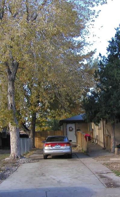 2823 W Park Place, Denver, CO 80219 - MLS#: 8026440