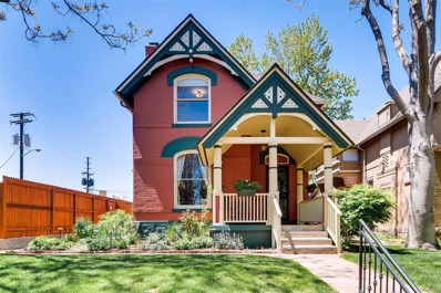 1545 N Ogden Street, Denver, CO 80218 - MLS#: 8075920