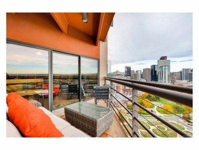 100 Park Avenue UNIT 1902, Denver, CO 80205 - MLS#: 8076634
