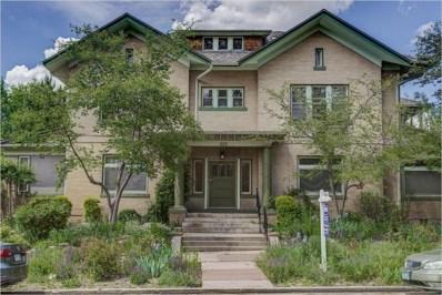1100 N Marion Street UNIT 4, Denver, CO 80218 - #: 8077082