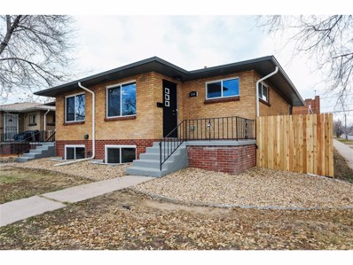 3304 N Fillmore Street, Denver, CO 80205 - MLS#: 8092319