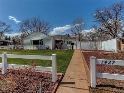 1427 S Dahlia Street, Denver, CO 80222 - #: 8104818