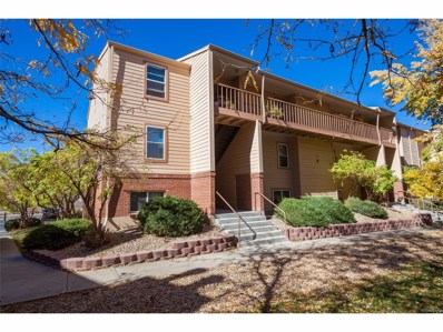 3121 S Tamarac Drive UNIT J101, Denver, CO 80231 - MLS#: 8244326