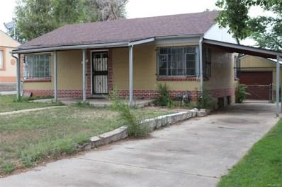 1385 W Custer Place, Denver, CO 80223 - #: 8315437