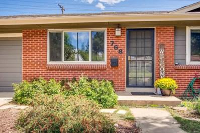 768 S Jasmine Street, Denver, CO 80224 - #: 8391863