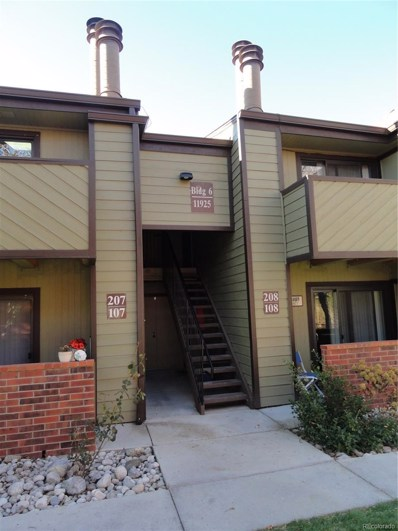 11925 E Harvard Avenue UNIT 207, Aurora, CO 80014 - MLS#: 8424423