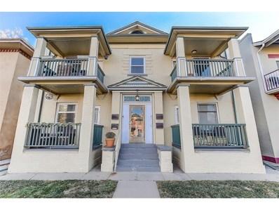 1752 N Franklin Street UNIT 3, Denver, CO 80218 - MLS#: 8427714