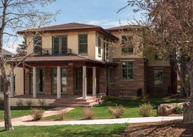 820 8th Street, Boulder, CO 80302 - MLS#: 8451582