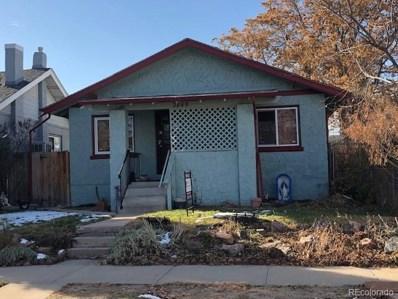 3849 Vallejo Street, Denver, CO 80211 - MLS#: 8479508