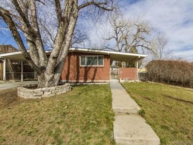 1801 Hopkins Drive, Denver, CO 80229 - MLS#: 8484925