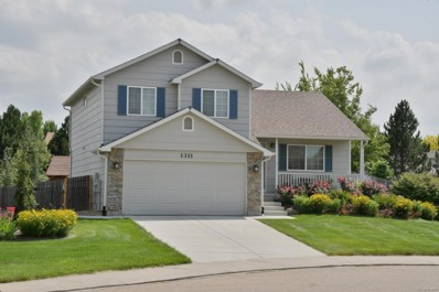 1311 Cedarwood Drive, Longmont, CO 80504 - MLS#: 8519503