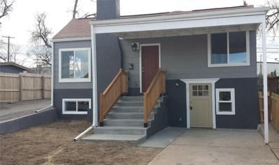 243 S Eliot Street UNIT 1, Denver, CO 80219 - #: 8526339