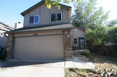 3325 Richmond Drive, Colorado Springs, CO 80922 - MLS#: 8548910