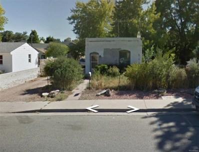 2742 W 2nd Avenue, Denver, CO 80219 - MLS#: 8553526