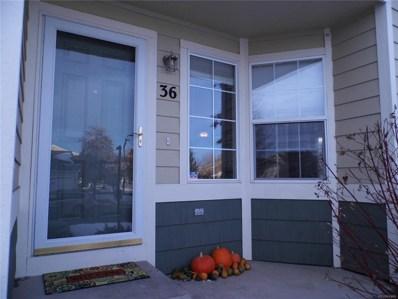 930 Button Rock Drive UNIT F36, Longmont, CO 80504 - MLS#: 8570182