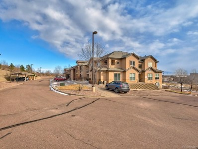 605 Cougar Bluff Point UNIT 208, Colorado Springs, CO 80906 - #: 8631261