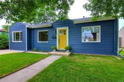 4970 Eliot Street, Denver, CO 80221 - MLS#: 8651286