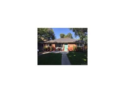 1623 Spruce Street, Denver, CO 80220 - MLS#: 8723977