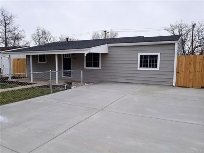 7520 Niagara Street, Commerce City, CO 80022 - MLS#: 8731009