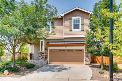 746 Sundown Drive, Lafayette, CO 80026 - MLS#: 8798571